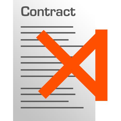 Geen contract met ThermoSmart!